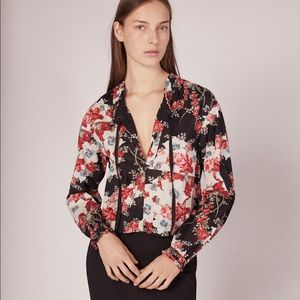 • Rag & Bone • Verna Floral Patchwork Blouse Large